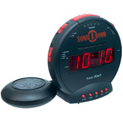 Sonic Bomb Alarm Clock and Bed Shaker Price: $42.75