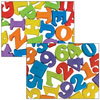 Braille Alphabet and Numbers Magnets Combo Set - 53 Pieces
