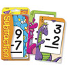 Low Vision Subtraction Pocket Flash Cards