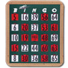 Jumbo Finger-Tip Bingo Cards- Pack-20