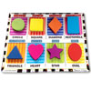 Melissa and Doug Chunky Puzzle Shapes - Tactile with Braille Markings