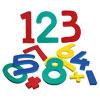 Jumbo Numbers 0 - 9 With Math Symbols
