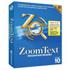 ZoomText 10 Magnifier-Reader - Intl Version on CD