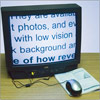 Reizen Wired Mouse Electronic Magnifier for TV