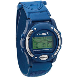 Vibralite 3 (Blue with Blue Velcro (R) Brand Fasteners Band) Price: $58.75